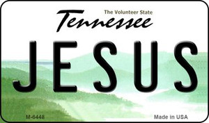 Jesus Tennessee State License Plate Wholesale Magnet M-6448