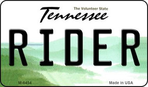 Rider Tennessee State License Plate Wholesale Magnet M-6454
