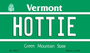 Hottie Vermont State License Plate Novelty Wholesale Magnet M-10674