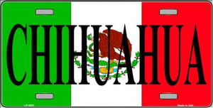 Chihuahua Wholesale Metal Novelty License Plate LP-3431
