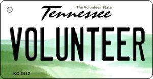 Volunteer Tennessee License Plate Wholesale Key Chain KC-6412