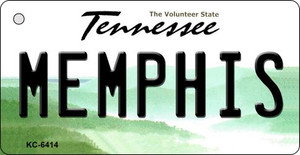 Memphis Tennessee License Plate Wholesale Key Chain KC-6414