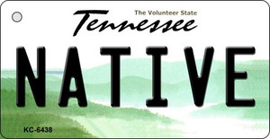 Native Tennessee License Plate Wholesale Key Chain KC-6438
