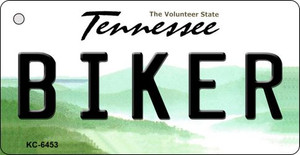 Biker Tennessee License Plate Wholesale Key Chain KC-6453