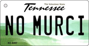 No Murci Tennessee License Plate Wholesale Key Chain KC-6457