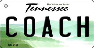 Coach Tennessee License Plate Wholesale Key Chain KC-6458