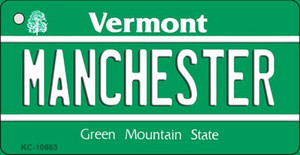 Manchester Vermont License Plate Novelty Wholesale Key Chain