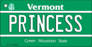 Princess Vermont License Plate Novelty Wholesale Key Chain