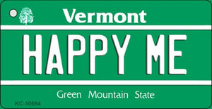 Happy Me Vermont License Plate Novelty Wholesale Key Chain