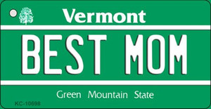 Best Mom Vermont License Plate Novelty Wholesale Key Chain
