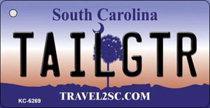 Tailgtr South Carolina License Plate Wholesale Key Chain