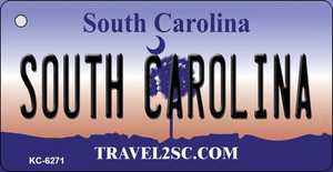 South Carolina License Plate Wholesale Key Chain