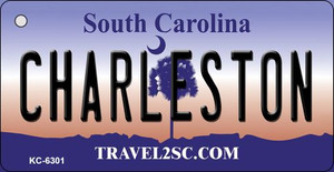Charlestown South Carolina License Plate Wholesale Key Chain