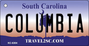 Columbia South Carolina License Plate Wholesale Key Chain