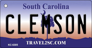 Clemson South Carolina License Plate Wholesale Key Chain