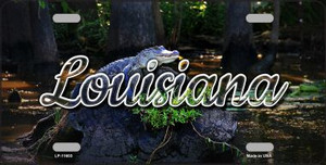Louisiana Alligator Swamp Wholesale State License Plate LP-11603