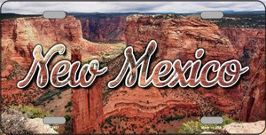 New Mexico Red Canyon Wholesale State License Plate LP-11617