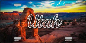 Utah Canyon Arch Wholesale State License Plate LP-11634