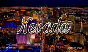 Nevada City Lights Wholesale Magnet M-11614