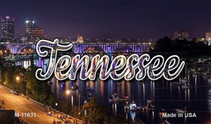 Tennessee Bridge Lights Wholesale Magnet M-11631
