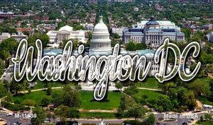 Washington DC White House Wholesale Magnet M-11638