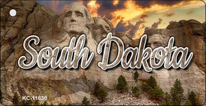 South Dakota Mt Rushmore Wholesale Key Chain KC-11630