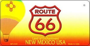RT 66 New Mexico State License Plate Wholesale Bicycle License Plate BP-2107