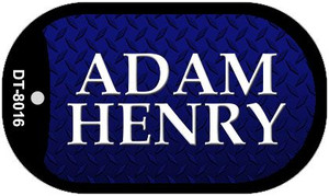 Adam Henry Novelty Wholesale Dog Tag Necklace DT-8016