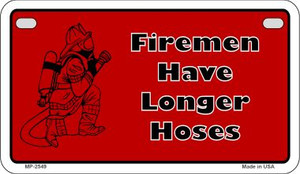 Firemen Have Novelty Wholesale Motorcycle License Plate MP-2549