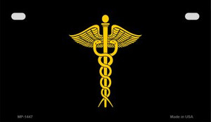 Caduceus Novelty Wholesale Motorcycle License Plate MP-1447