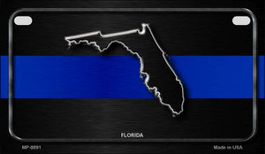 Florida Thin Blue Line Novelty Wholesale Motorcycle License Plate MP-8891