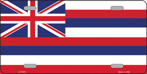 Hawaii Flag State Flag Wholesale Metal Novelty License Plate LP-3575