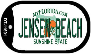 Jensen Beach Florida Novelty Wholesale Dog Tag Necklace DT-11691