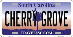 Cherry Grove South Carolina Novelty Wholesale License Plate LP-11416
