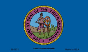Chickasaw Nation Tribe Novelty Wholesale Magnet