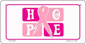 Hope Novelty Wholesale Bicycle Plate BP-8228