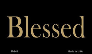 Blessed Novelty Wholesale Magnet M-248