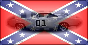 Confederate General Lee Novelty Wholesale Bicycle Plate BP-2401