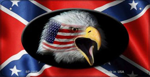 Confederate Eagle Novelty Wholesale Bicycle Plate BP-2408