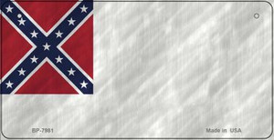 Confederate 2nd Novelty Wholesale Bicycle Plate BP-7981