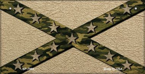 Confederate Camo Stripes Novelty Wholesale Bicycle Plate BP-7988