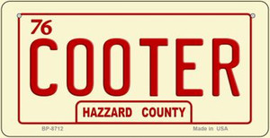 Cooter Novelty Wholesale Bicycle Plate BP-8712