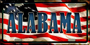 Alabama Wholesale Metal Novelty License Plate