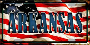 Arkansas Wholesale Metal Novelty License Plate