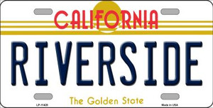 Riverside California Novelty Wholesale License Plate LP-11428