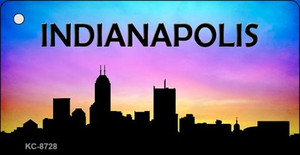 Indianapolis Silhouette Wholesale Key Chain