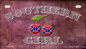 Southern Girl Novelty Wholesale Motorcycle License Plate