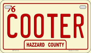 Cooter Novelty Wholesale Motorcycle License Plate
