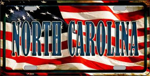 North Carolina Wholesale Metal Novelty License Plate