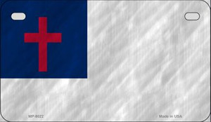 Christian Flag Novelty Wholesale Motorcycle License Plate MP-8022